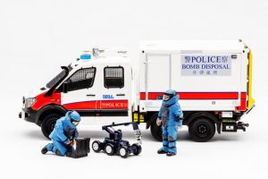【Pre-order : 2019 Explosive Ordnance Disposal Bureau Operational Vehicle 】